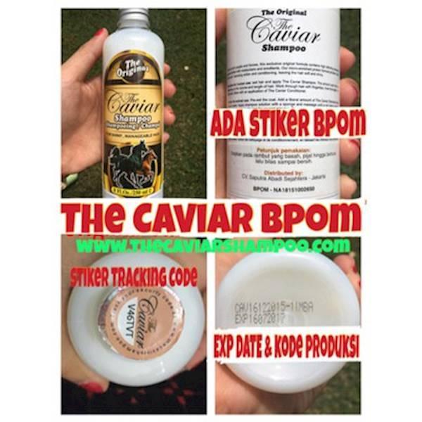 Promo BPOM THE CAVIAR SHAMPO  / SHAMPO KUDA / SHAMPOO CAVIAR ORI Terlaris Dan Termurah