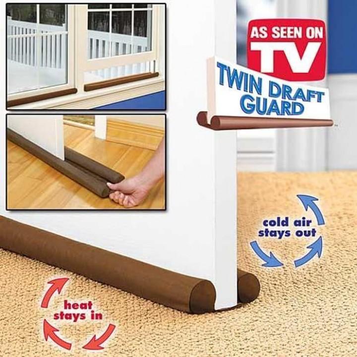 Twin Draft Guard - Alat Pengisi Celah Pintu