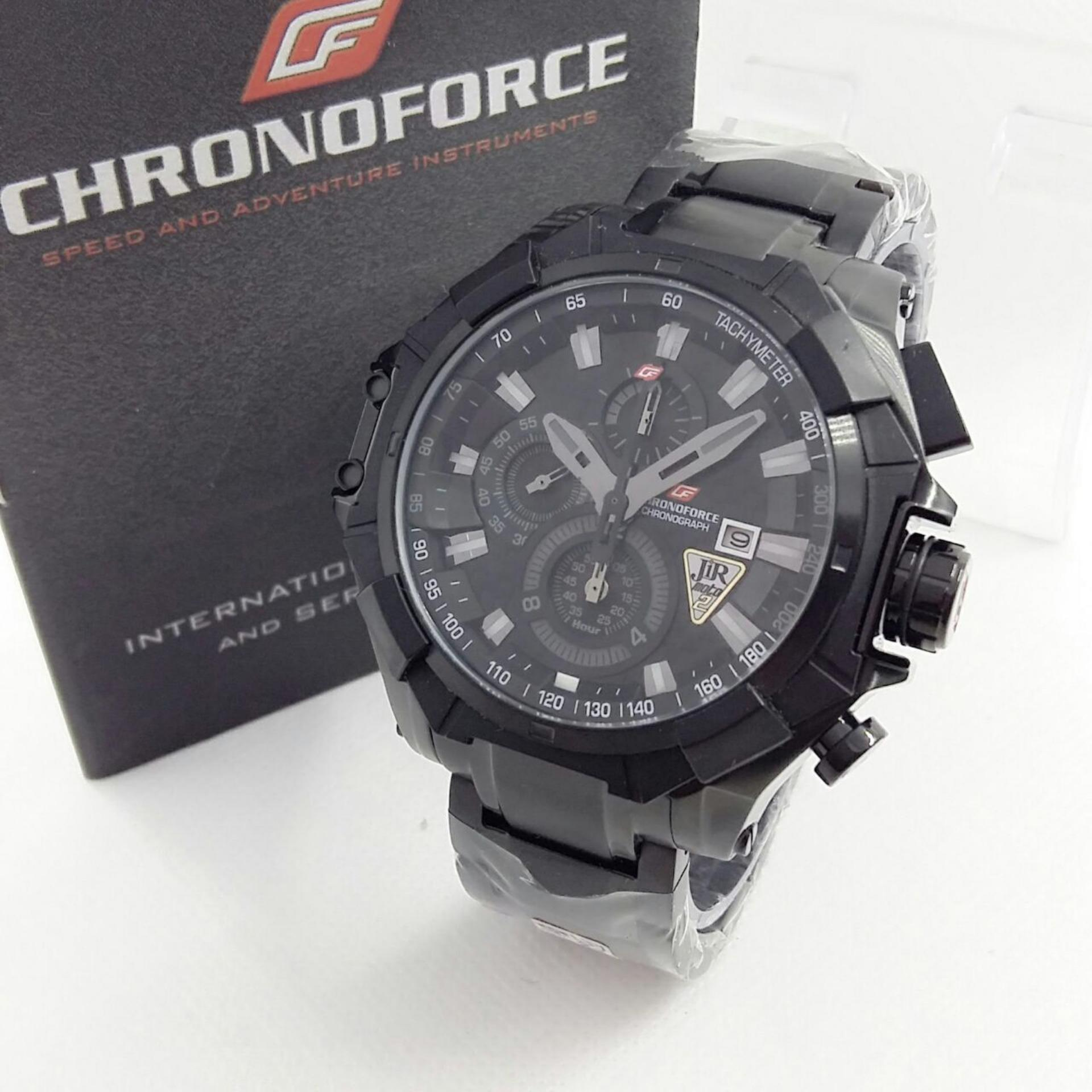 CHRONOFORCE CR5209GZ - Jam Tangan Kasual Pria - Full Stainless -  Chronograph Mode e78ffa3ac1