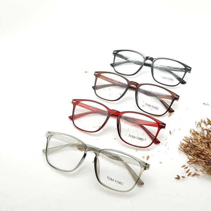 Harga Spesial!! Frame Kacamata Minus Tom Ford Square Big Pria Wanita -  ready stock 3aa1827f6b