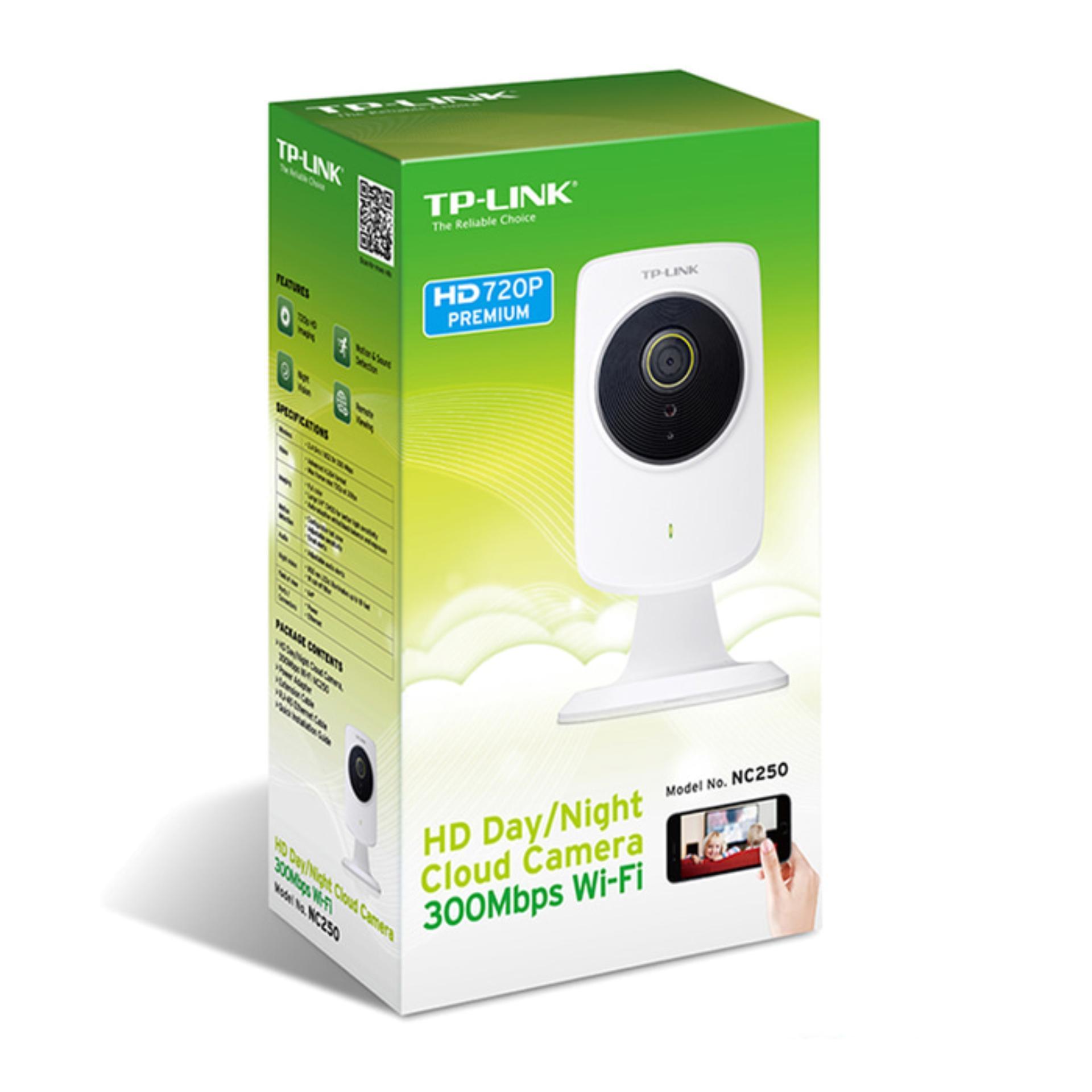 TP-Link NC250 - TPLink WiFi Wireless HD Day/Night Cloud Camera Kamera