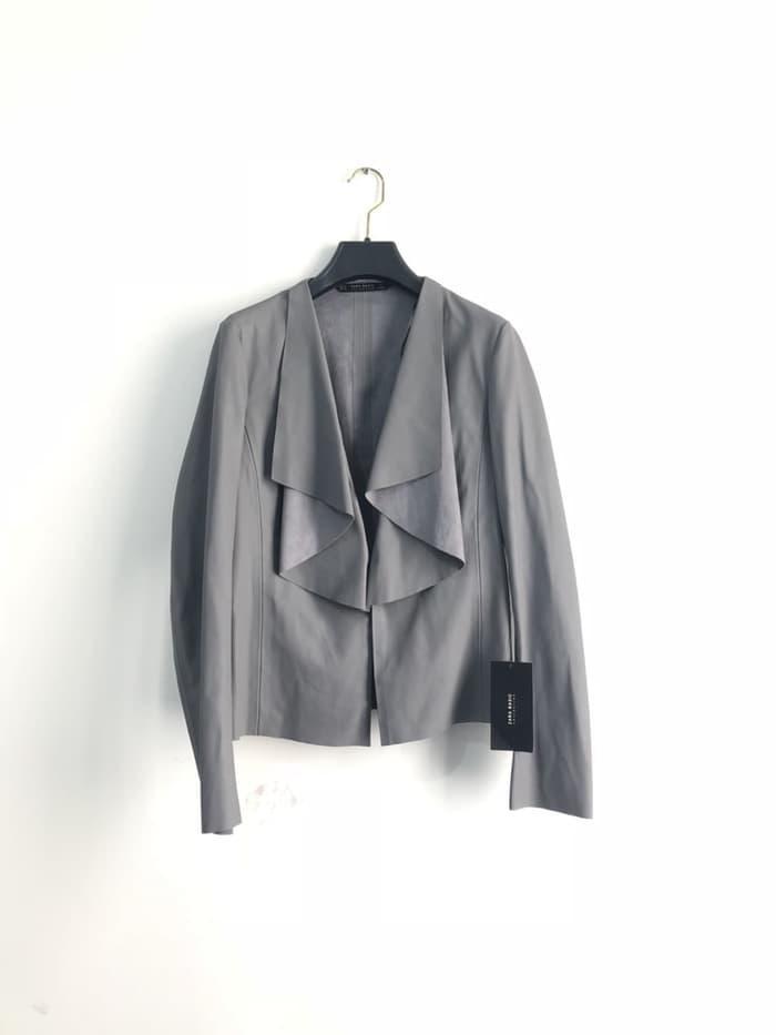Jaket Kulit Wanita Zara Original Not Louis Vuitton Balenciaga Moncler