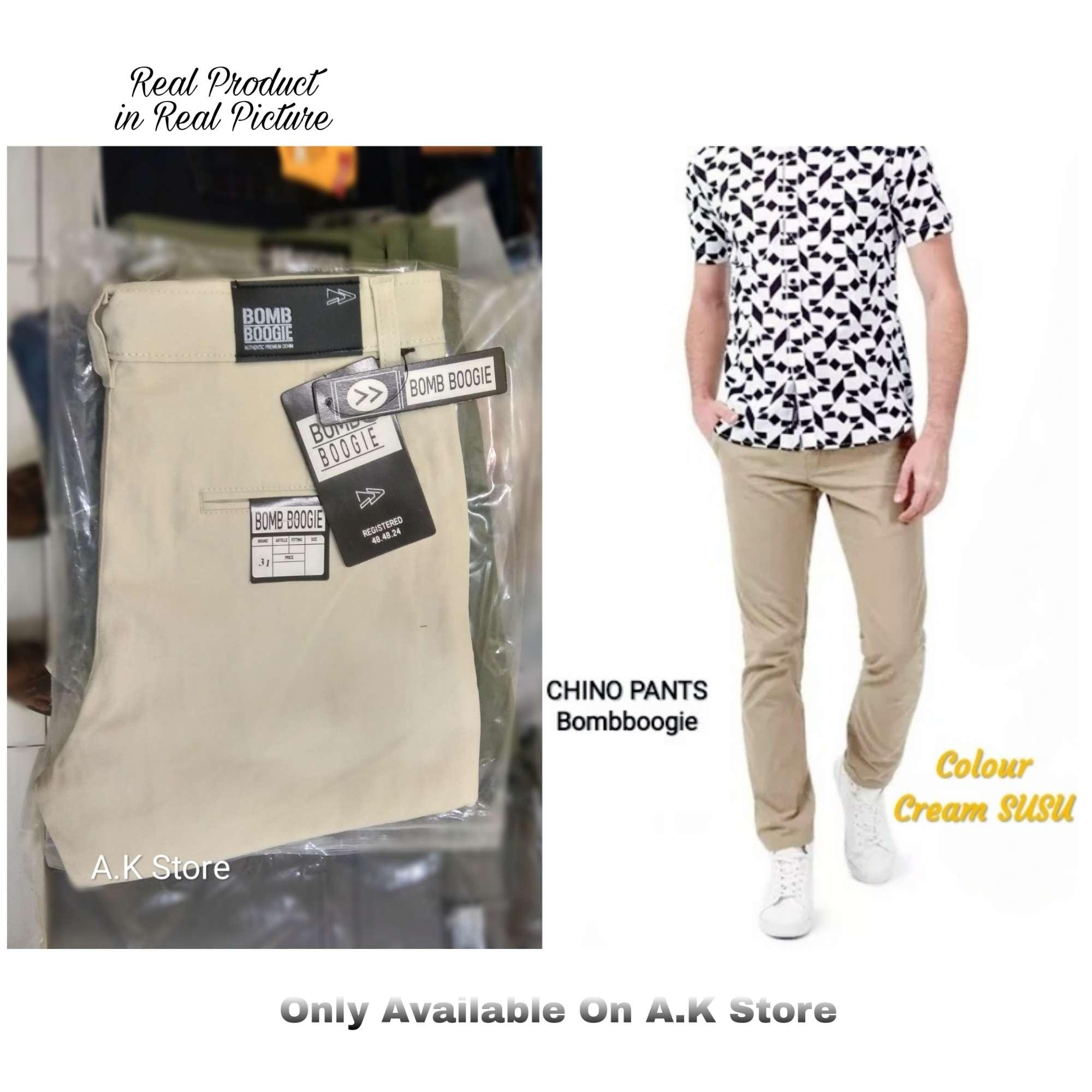 CHINO PANTS - Authentic Premium Denim Bombboogie