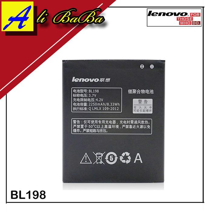 Baterai Handphone Lenovo BL198 Lenovo A830 A850 A859 S880 S890 K860