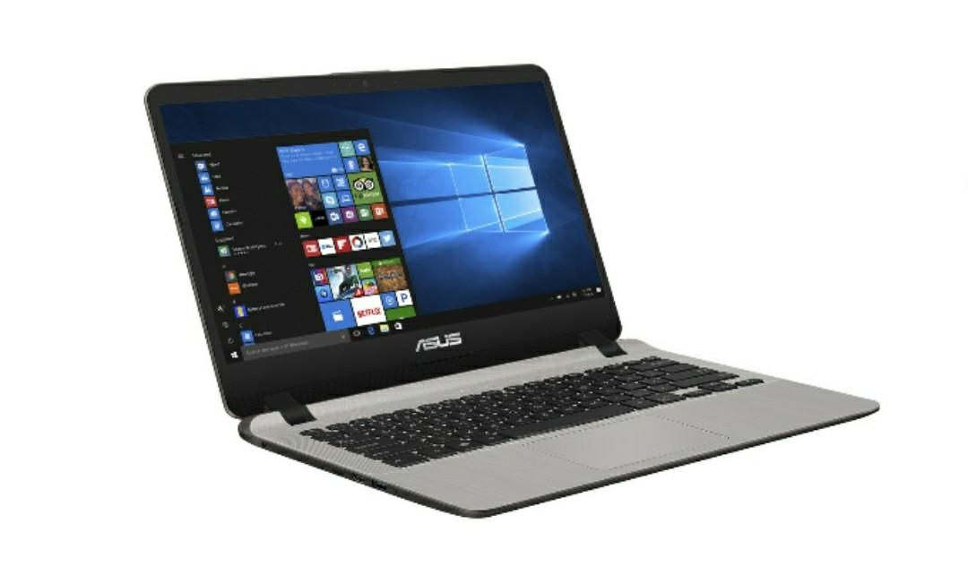 Asus Vivobook A407UA Slim Intel Core i3 6006 Ram4Gb HDD1Tb Windows 10 Original