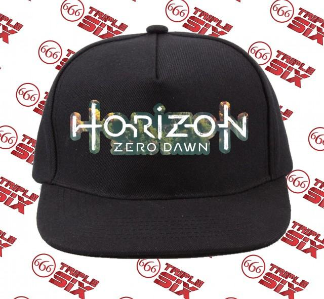 Topi Snapback Cotton Horizon Zero Dawn 3D