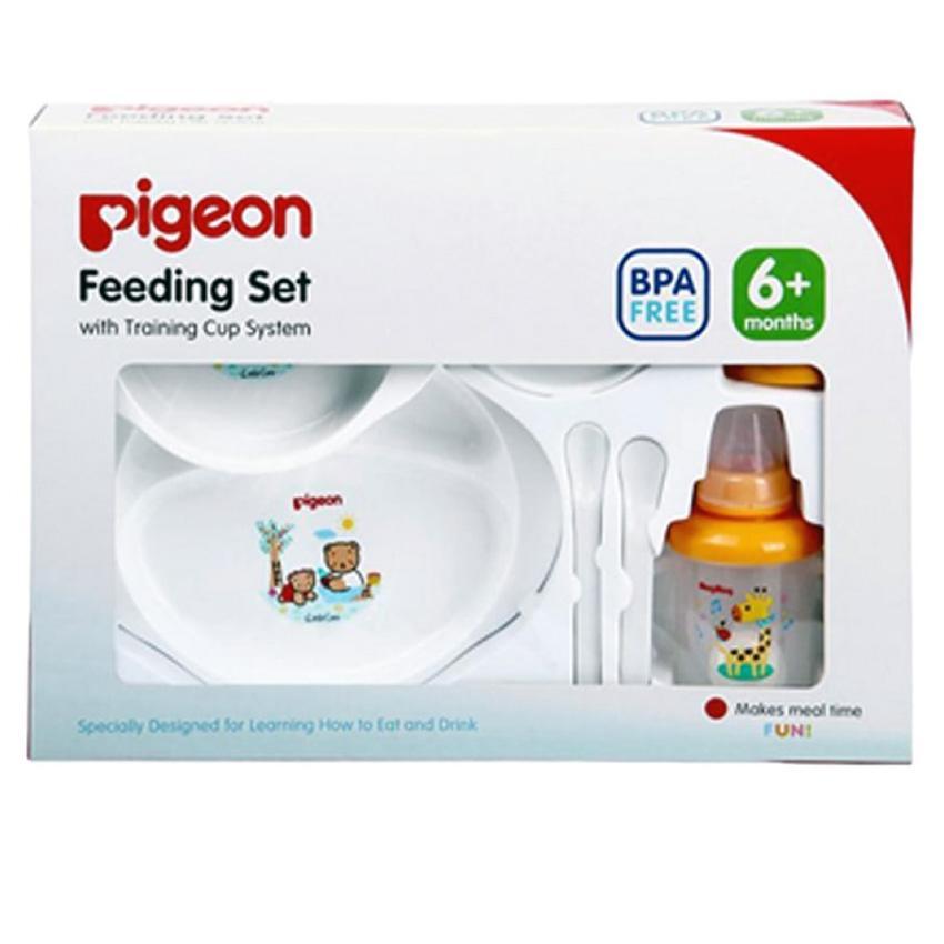 ... Pigeon Feeding Set With Training Cup Perlengkapan Bayi