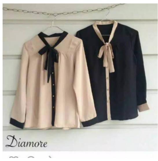 Hana Fashion * Blouse Diamore casual * rxf