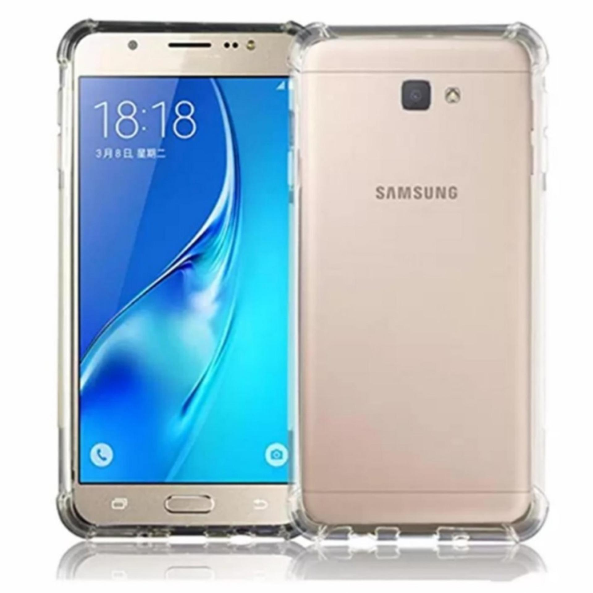 Jak Shop Soft Case Anti Crack / Anti Shock Case Samsung Galaxy J7 Prime 2016 /