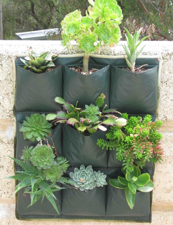 Wall Planterbag 9 Pockets By Taman Aquaponic.