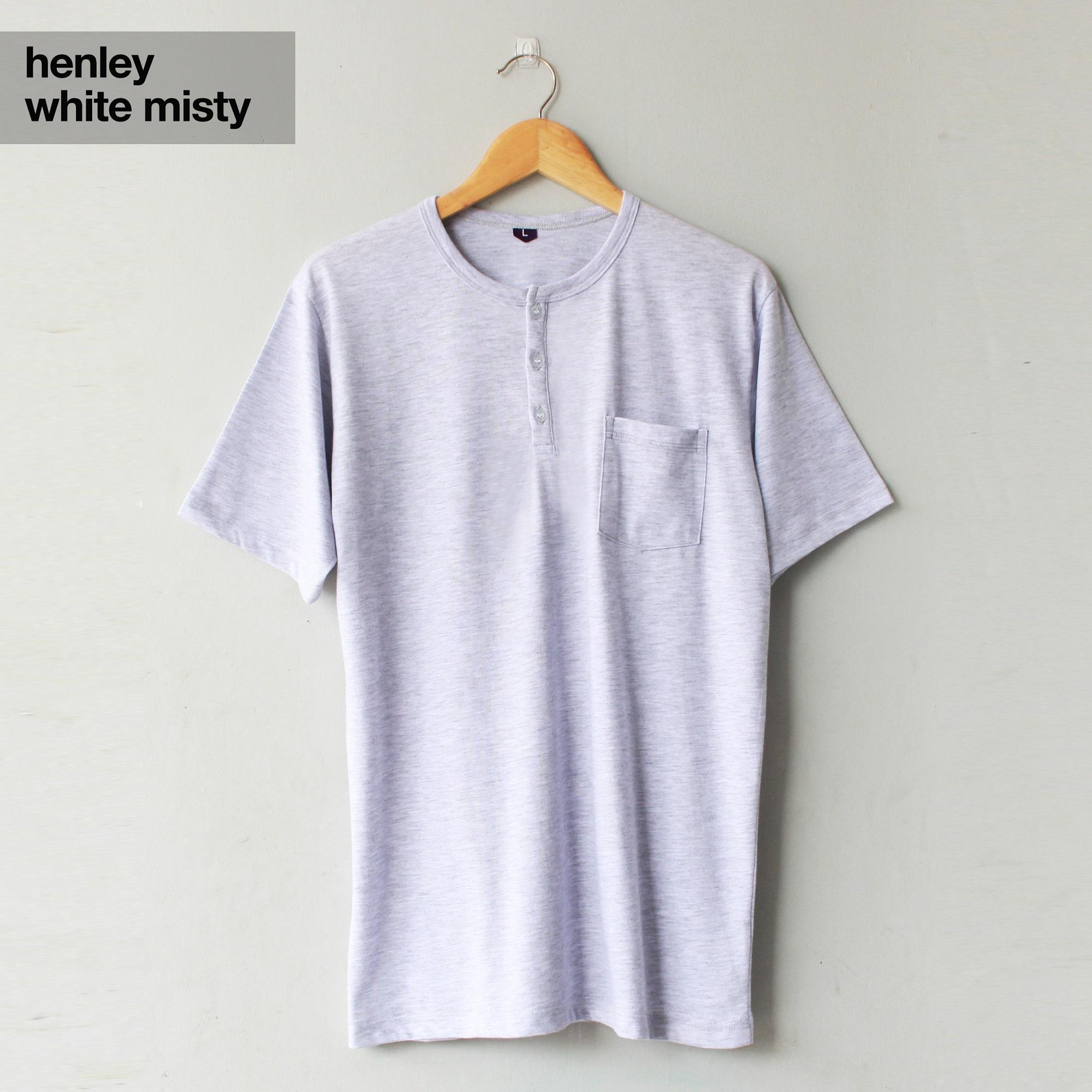 ... POCKET BLACK MISTY / Kaos Tangan Pendek Saku Hitam Misti. Source · Rp 53.000. Kaos Polos Lengan Pendek Baju Henley Untuk Cewek Dan Cowok .