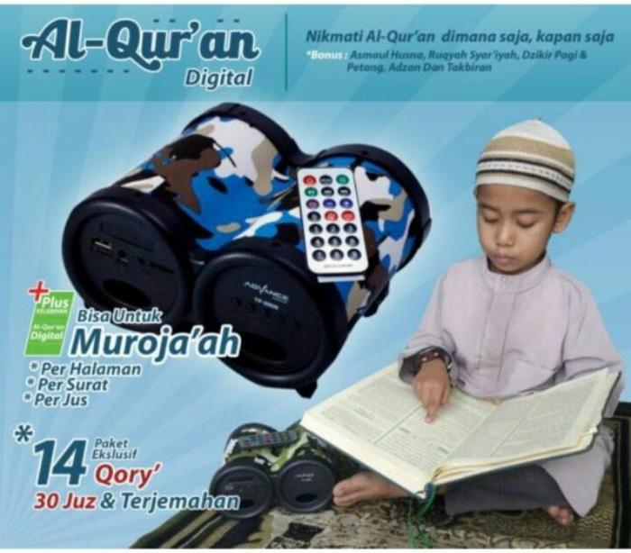 Hot Promo Speaker Al Quran Dengan Qori Imam Mekah dan Madinah