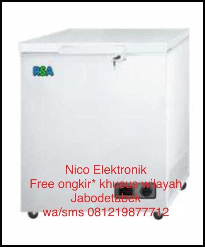 HARGA DISKON!!! FREE ONGKIR* RSA Chest Freezer CF-100 - HTX3tk