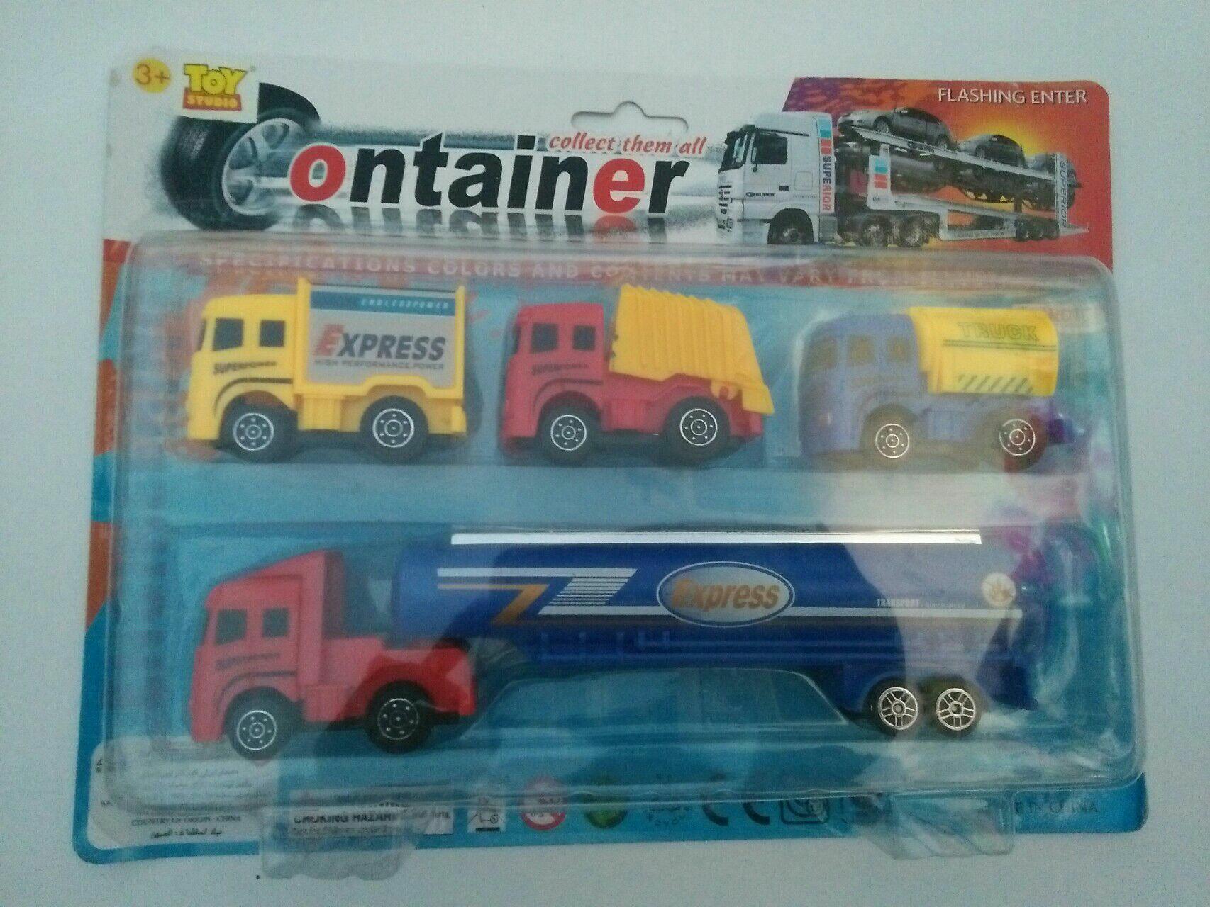 WSK Mainan satu set mobil container