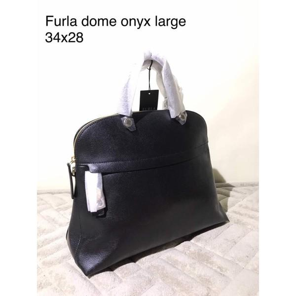 Jual Tas Furla Original Ready Dome Onxy Large Black