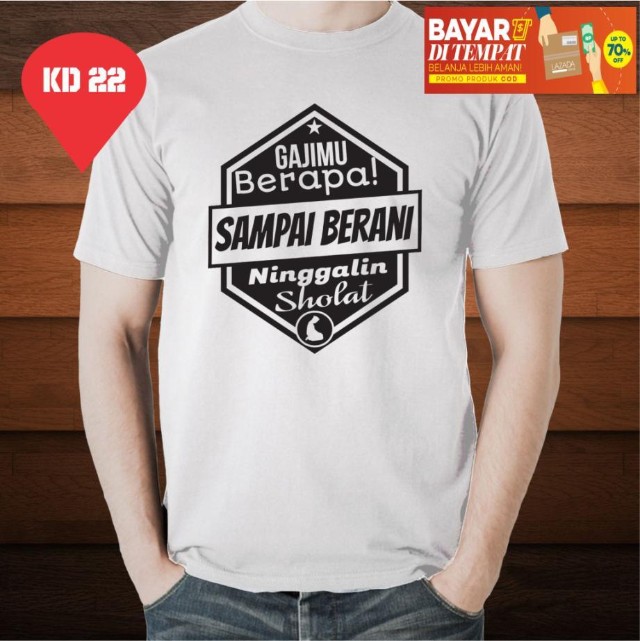 D|F.co Kaos Distro Dakwah Berapa Gajimu Kualitas Premium 100% Cotton Combed
