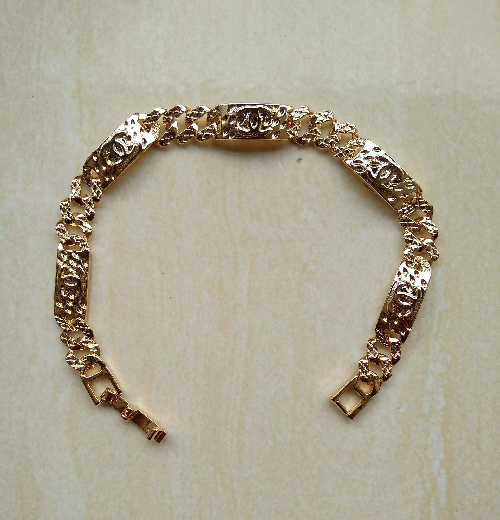 Gelang Xuping Perhiasan Wanita Motif Channel-Xuping Gold