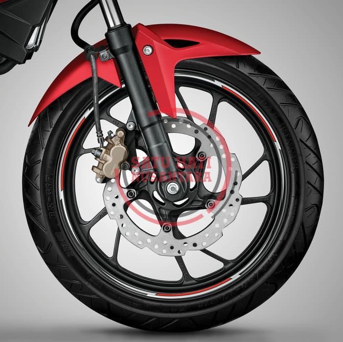 (New Cb Cbr 150R 150 R) Honda Ori Wheel List Sticker / Stiker Velg 17
