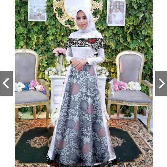 Harga Dress Batik Modern Pesta Termurah Batik Indonesia