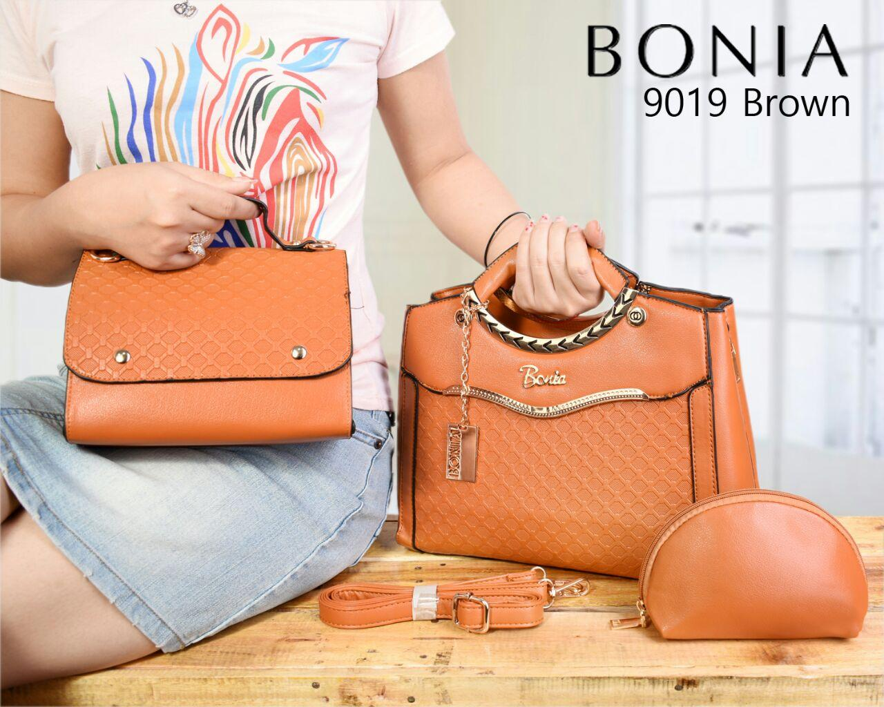 Tas Bonia Luxury 9019 set 3in1