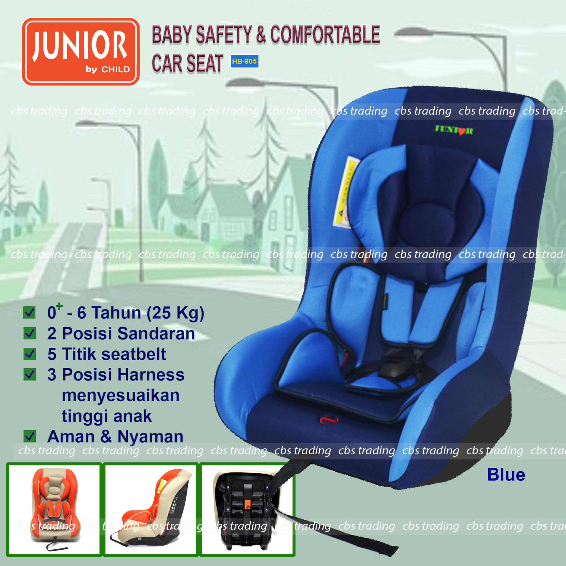 L'abeille Junior Baby Safety & Comfortable Car Seat HB-905 - Kursi Mobil