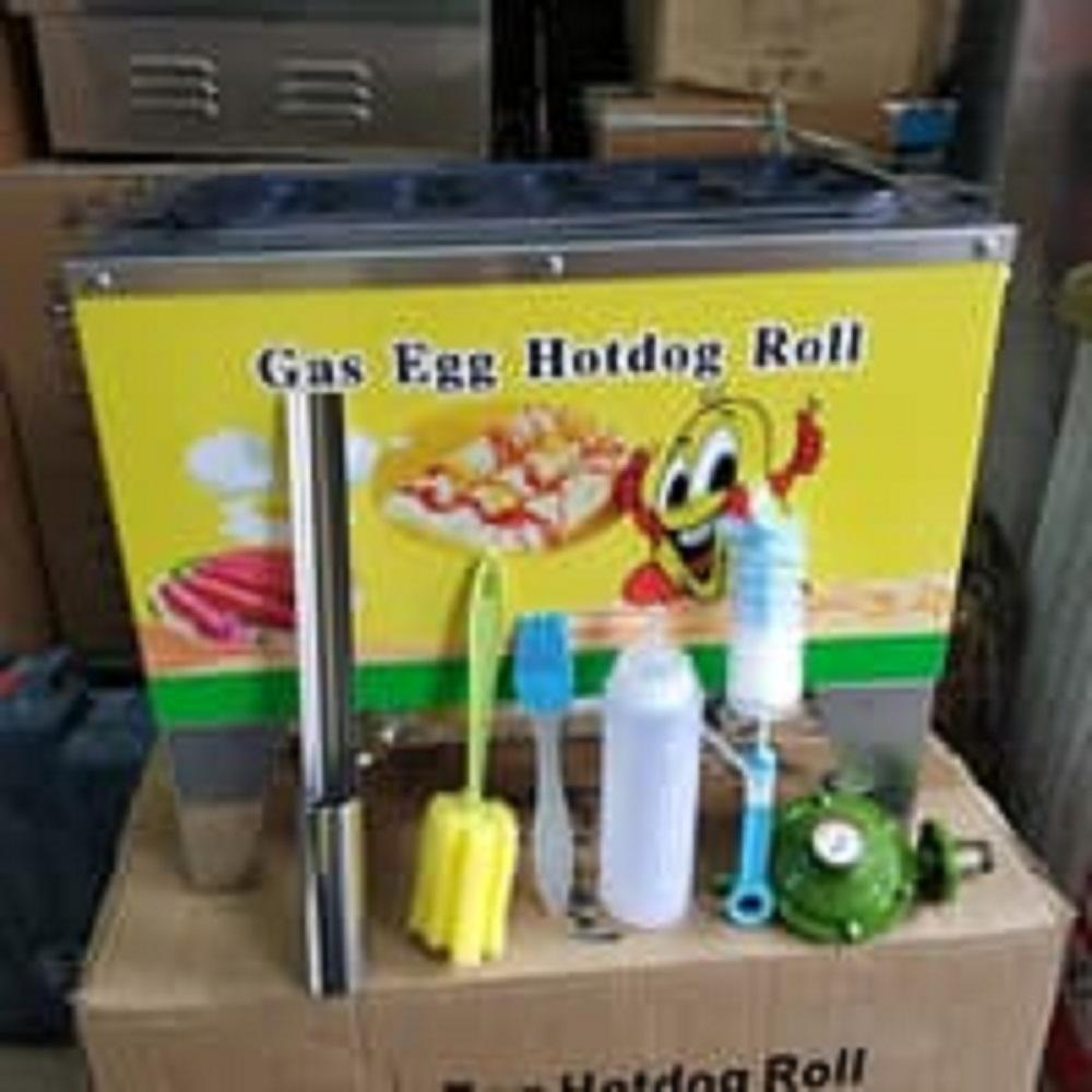 Buy Sell Cheapest Getra Nfz Best Quality Product Deals Alat Sosis Telur 4 Lubang Mesin Sostel Lobang Egg Roll Telor Gas Isi 10