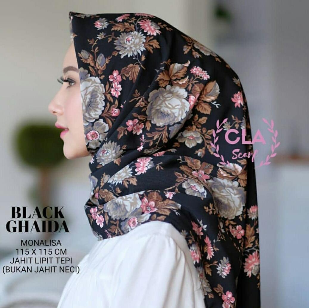 El zahrana Hijab Square Kerudung Segi Empat Hijab Segi Empat Jilbab Segi Empat. Source · Jilbab segiempat/Hijab Monalisa Motif/Kerudung segiempatIDR40900.