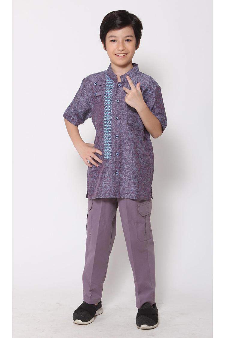 Ethica Moslem Fashion Koko Anak Majma Kids 15 (Biru)