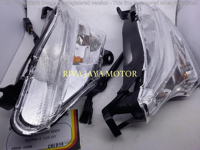 LAMPU SEN DEPAN SUPRA X 125 NEW 2007 (BATMAN)