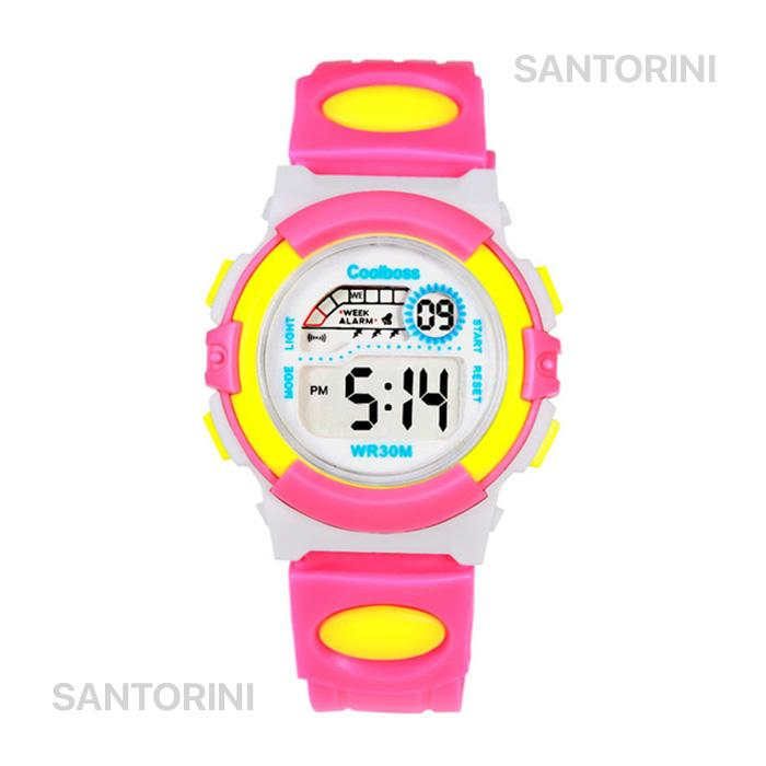 Coolboss Jam Tangan Pria Wanita Anak Anak Korea Fashion Sports Digital Led Men Women Kids Watch By Santorini.