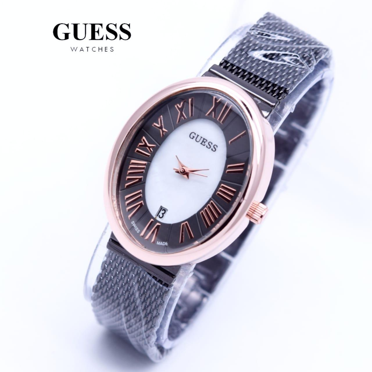 Guess Collection Gc Ladychic Y05009m7 Chronograph Jam Tangan Wanita Esquire Y08007g1 Pria Giordano Silver Komb Rosegold
