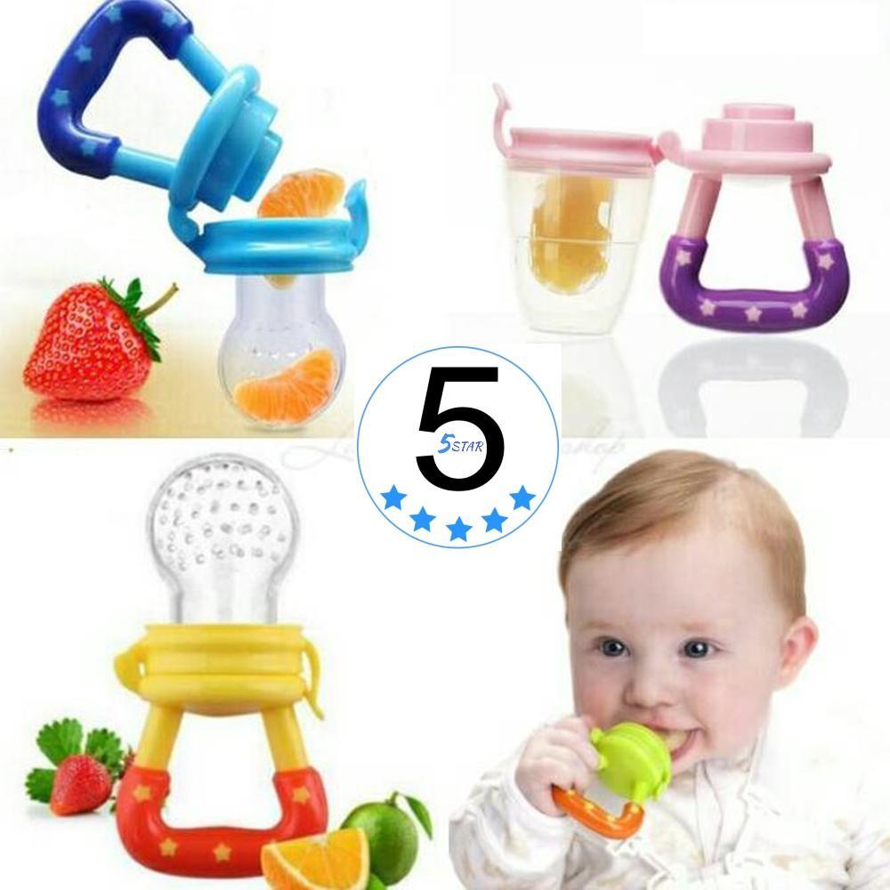 Dot Bayi Empeng Buah Cocok Untuk Bayi 5star / Dot Buah Higienis Baby Fruit Pacifier Size L / M - 1 Pcs By 5 Star.