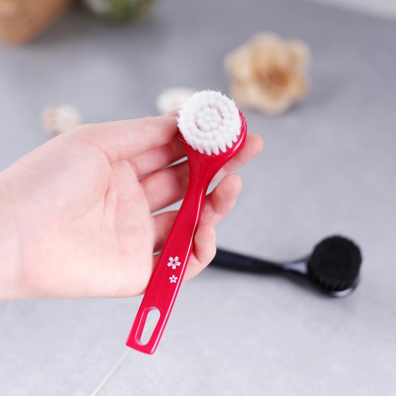 Brush Pembersih Wajah Manual Bulu Lembut Alat Pembersih Muka Dalam Pori-pori Pembersih Peralatan Sikat