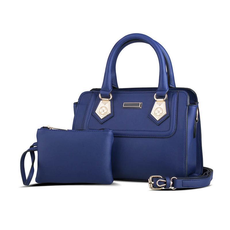 JK Collection Handbag / Tas Wanita Biru - TAS 020