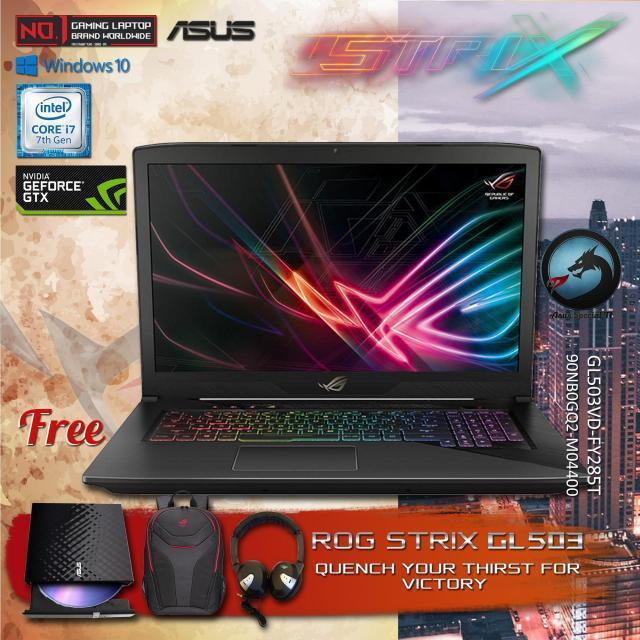 ASUS ROG    GL503VD - FY285T     Core i7-7700HQ ORIGINAL