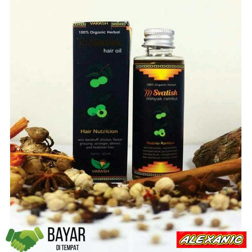Svatish Hair Oil - Minyak Rambut Svatish
