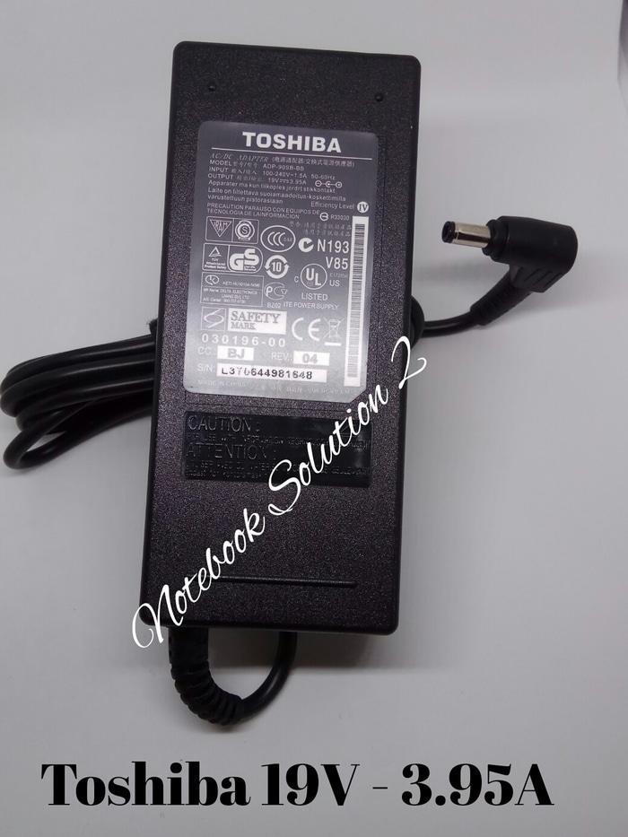 Terbaru! Original Adaptor Carger Toshiba Portege M800, M900, A500, M300 - ready stock