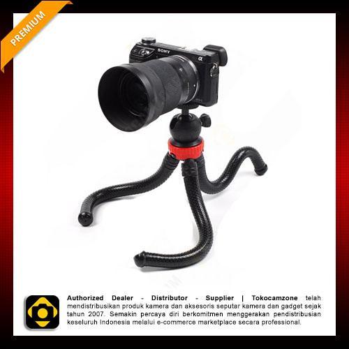Gorilla MaxiGrip Flexible Tripod For DSLR - Mirrorless Kamera - Smartphone