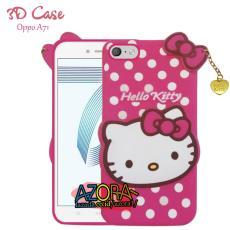 3D Case Oppo A71 Softcase 4D Karakter Boneka Hello Kitty Doraemon Lucu Character Cartoon