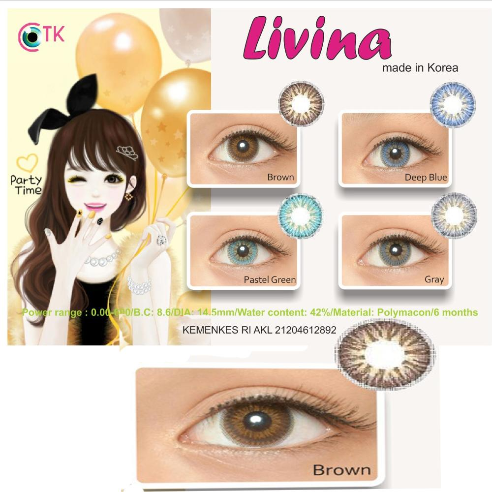 Livina Softlens - Brown + GRATIS Lenscase