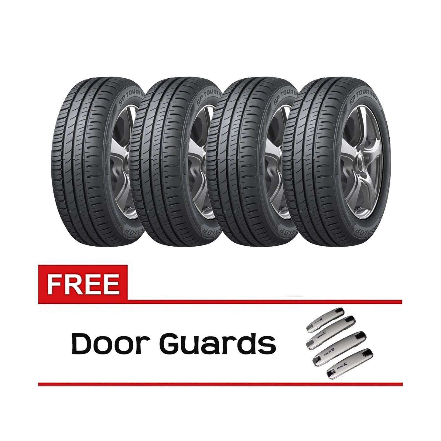 Toko Indonesia Perbandingan Harga Dunlop 11 05 18 Ban Mobil D80v4 205 65 R15 Vocer Sp Touring R1 60 4 Pcs Gratis Door Guards