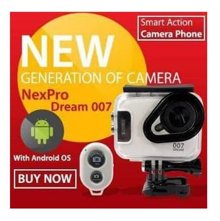Best Seller Action Camera NEXPRO DREAM 007 BISA SMARTPHONE Plus Remote