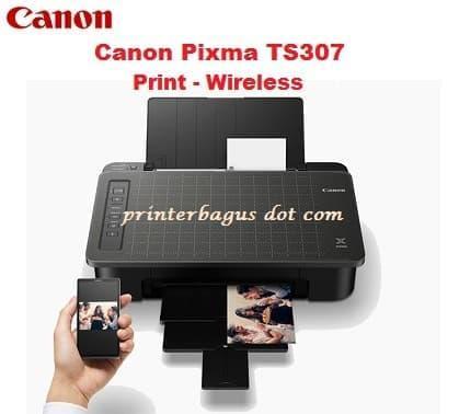 Canon PIXMA TS307 Inkjet Printer - Black