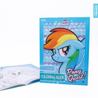 Review Of My Little Pony Coloring Book L Adinata Buku Mewarnai