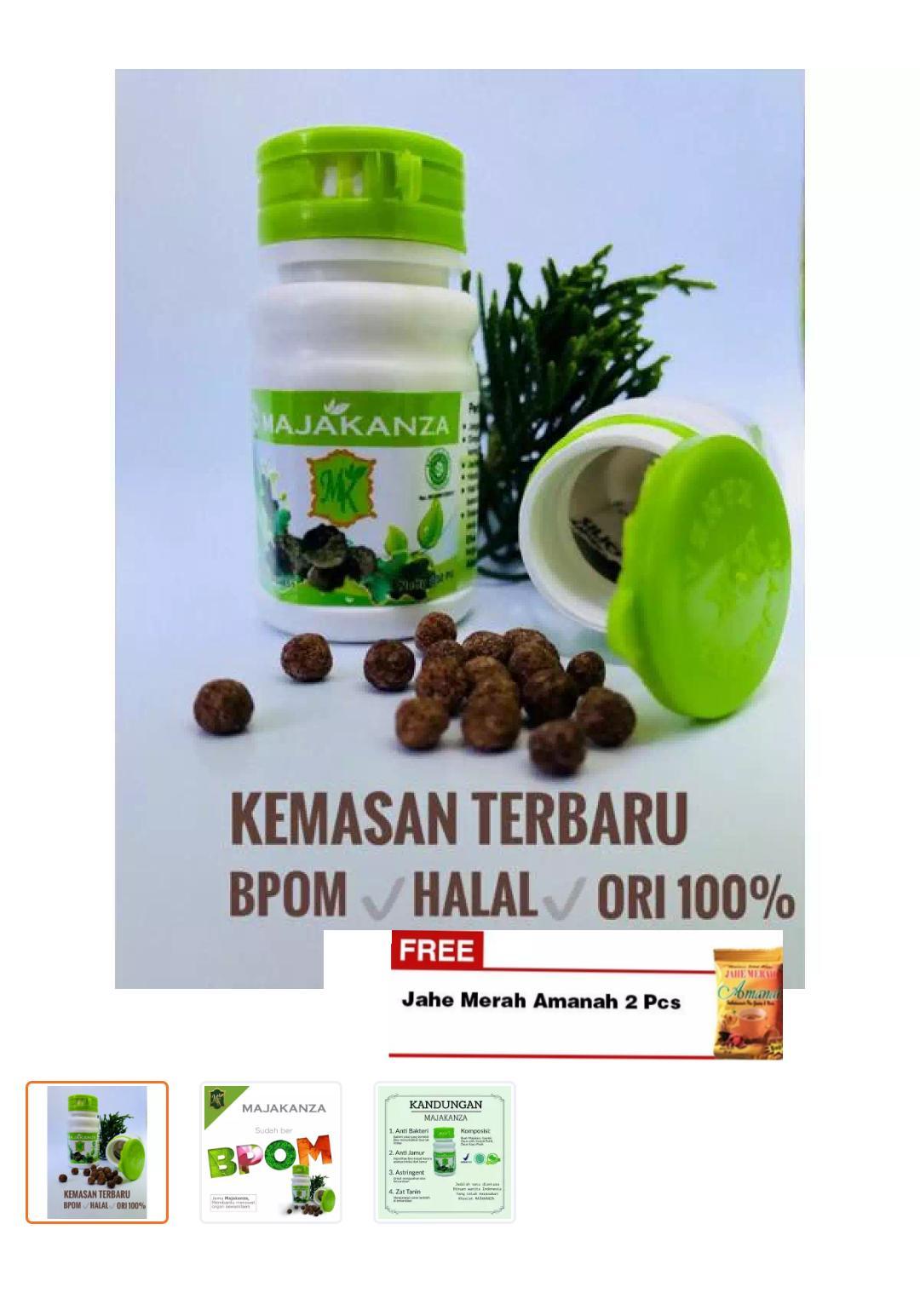 Buy Sell Cheapest Herbal Manjakani Kanza Best Quality Product Jamu Majakani Keputihan Alami I Ori