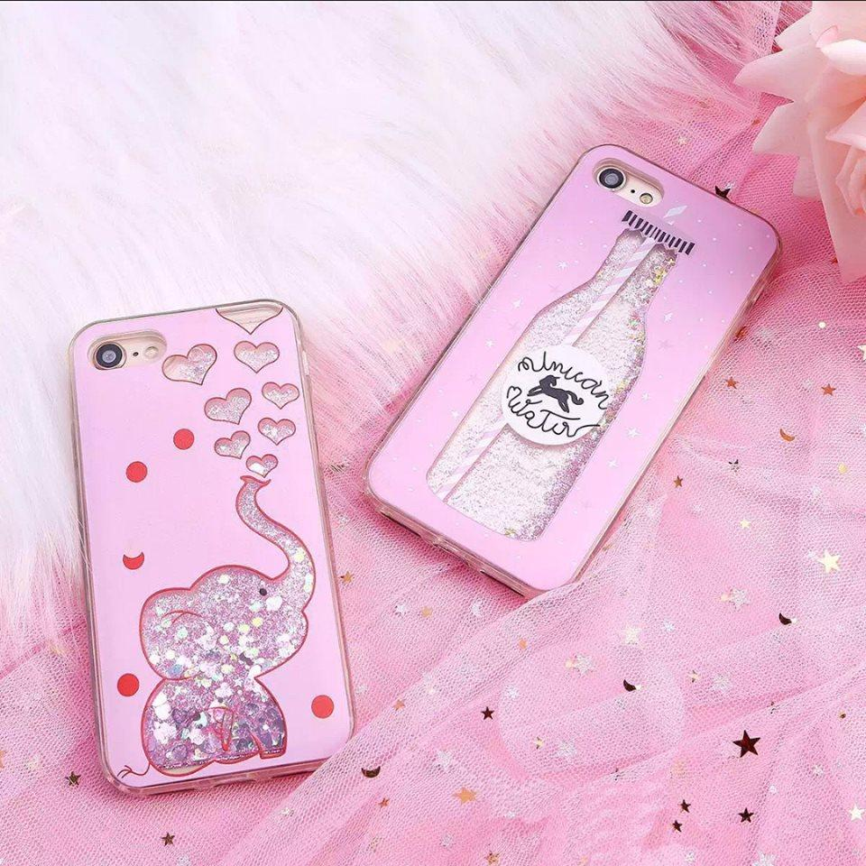 Softcase Water Gliter Blink For OPPO A71 - ABS