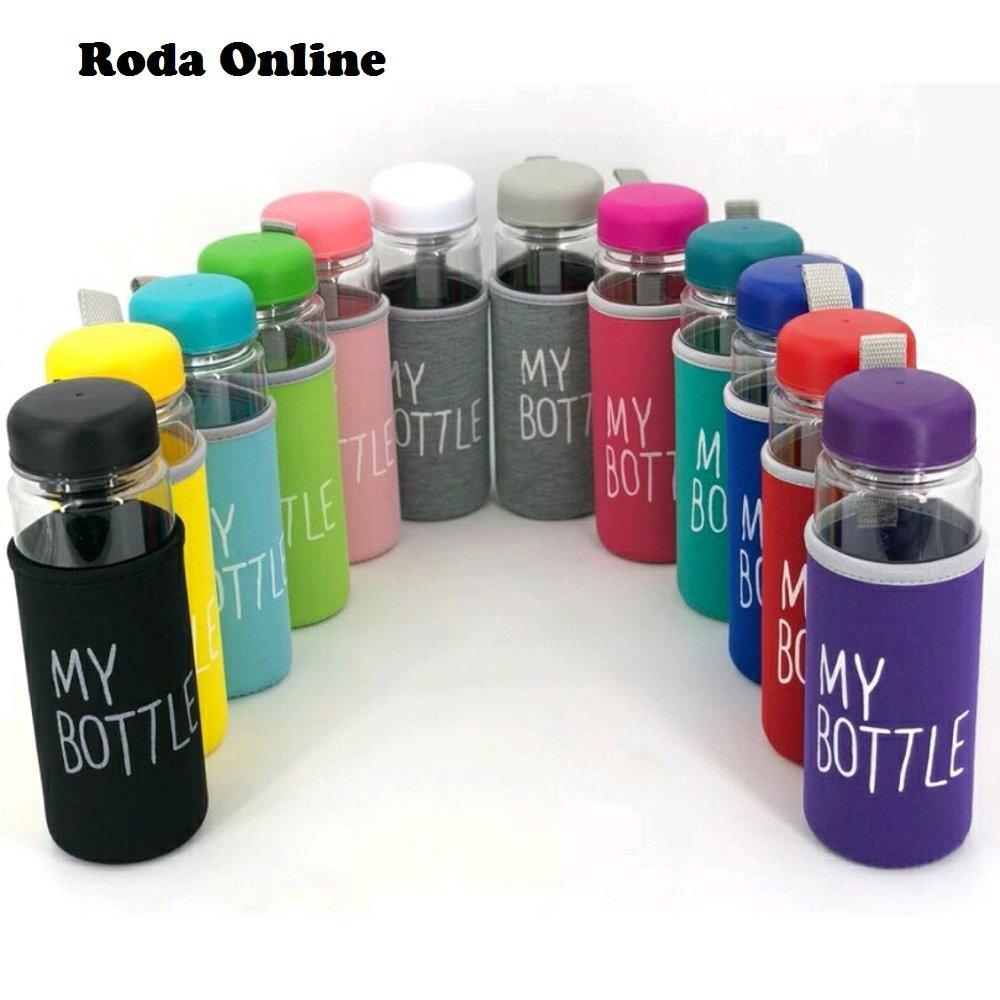 Jual Produk My Bottle Botol Minuman 500ml Sama Pouch Minum Free Busa Unique Water Drinking