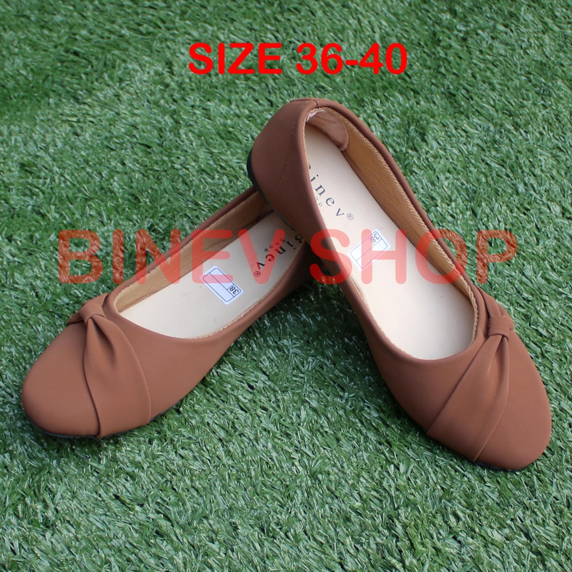 04de27ae885 Binev Sepatu Slip On Wanita B-053 PITA SAMPING 01