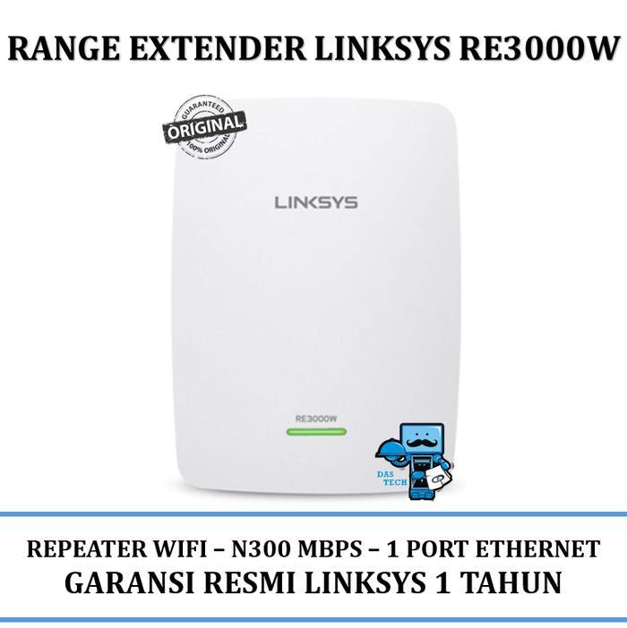 Repeater WiFi Linksys RE3000W N300 Wireless High Range & Quality