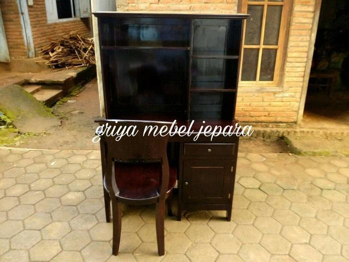 Promo    Meja belajar anak mebel jepara mebel murah mebel jati mebel furniture    Original